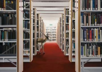 Victoria Reichelt 'Fall' 2012, oil on linen, 150 x 105cm