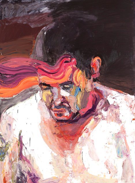 Ben Quilty 'Troy Park After Afghanistan' Oil on linen 190x140cm 2012